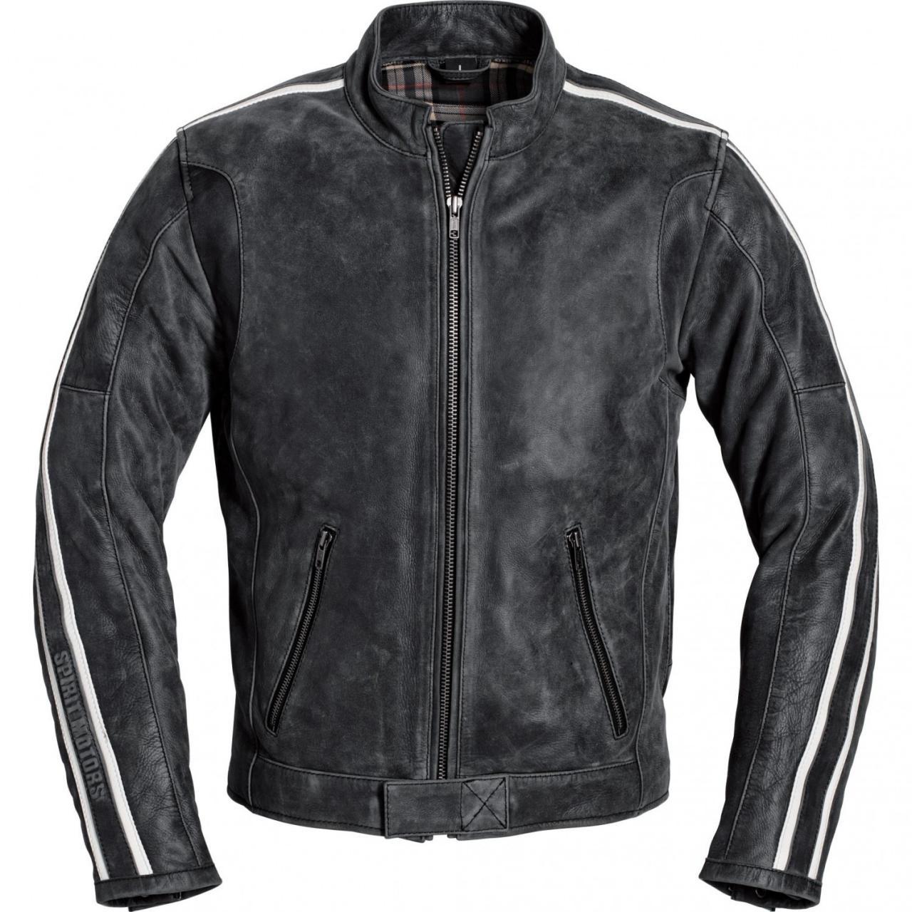 Spirit Motors kožená bunda na moto 15bece2ca9