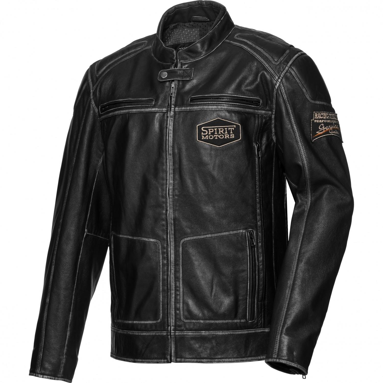 Kožená bunda na motorku chopper af7879b175