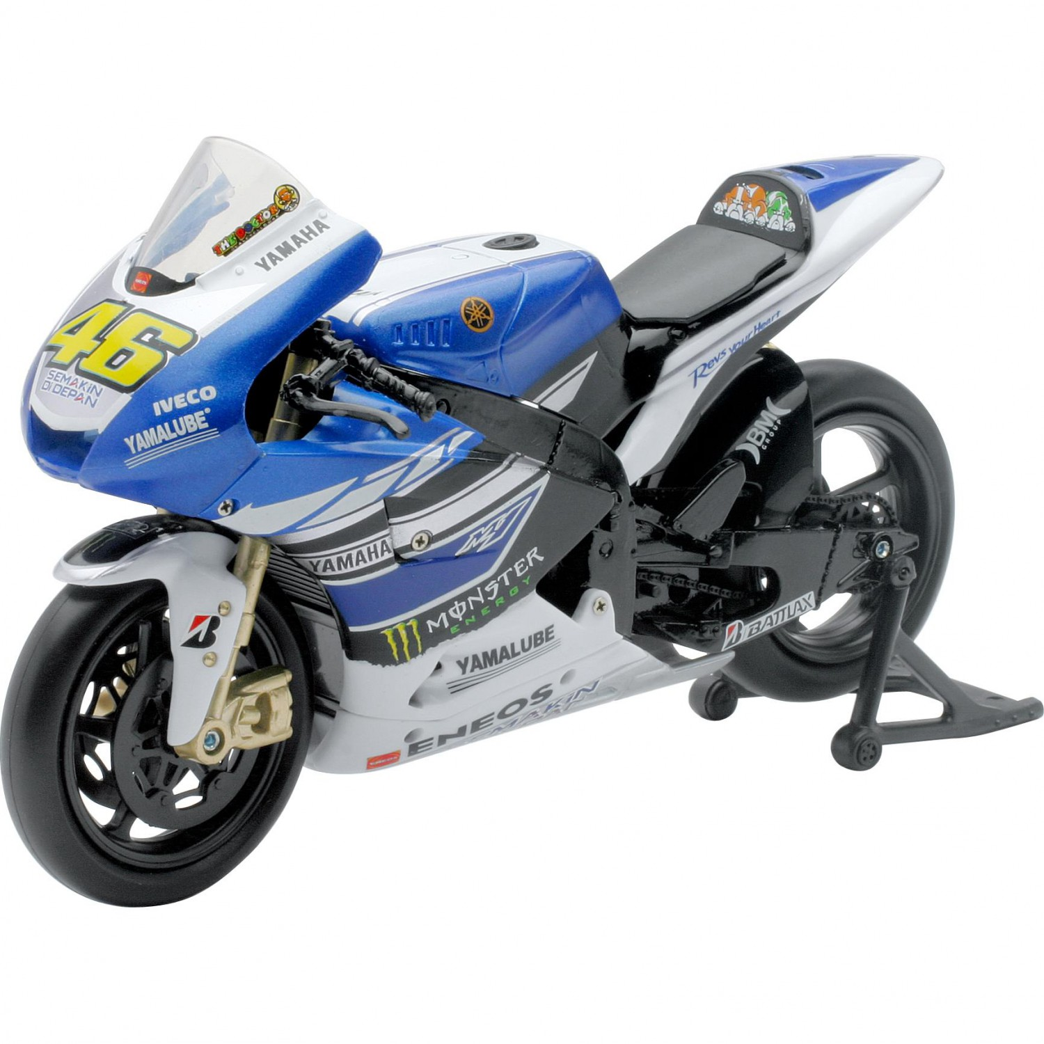 Model 1:12 Yamaha Racing Team 2013 Valentino Rossi No.46