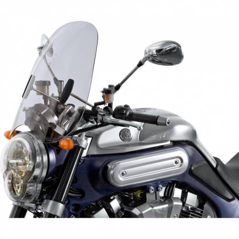 MRA plexi na choppera Virago Drag Star Intruder Shadow VTX tonované